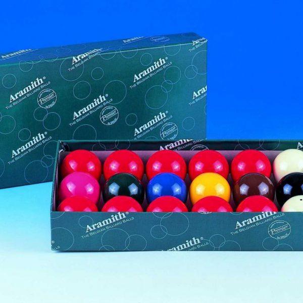 1 1/2 37.5mm Aramith Snooker Balls