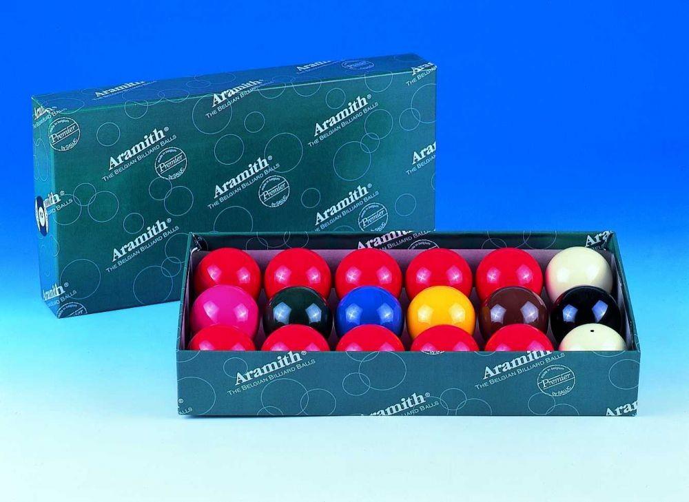 1 7/8 47.5mm Aramith Economy Snooker Balls