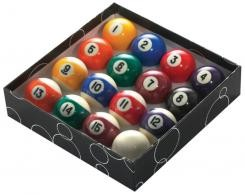 1 7/8 47.5mm Economy Engraved Pool Balls