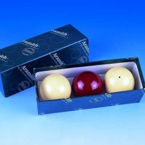 2 1/16 Aramith Billiard Balls