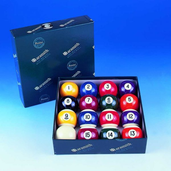 2 1/16 Aramith Engraved Pool Balls
