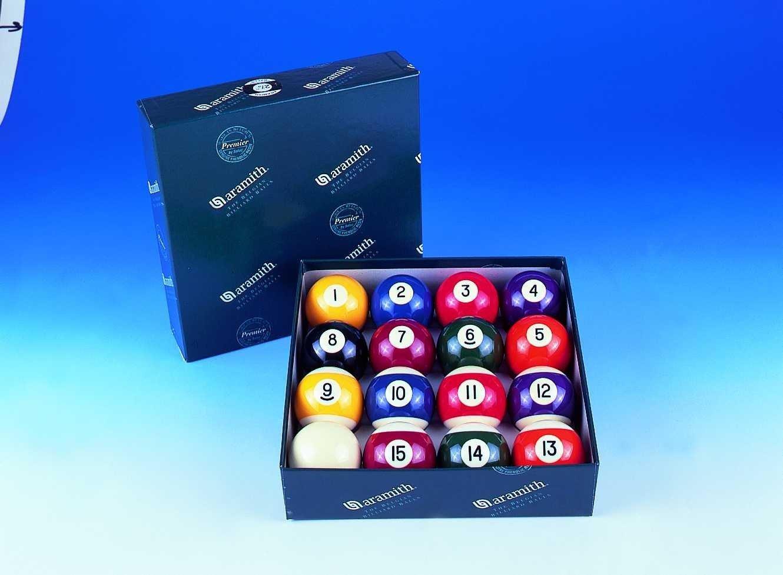 2 1/4 Aramith Engraved Pool Balls