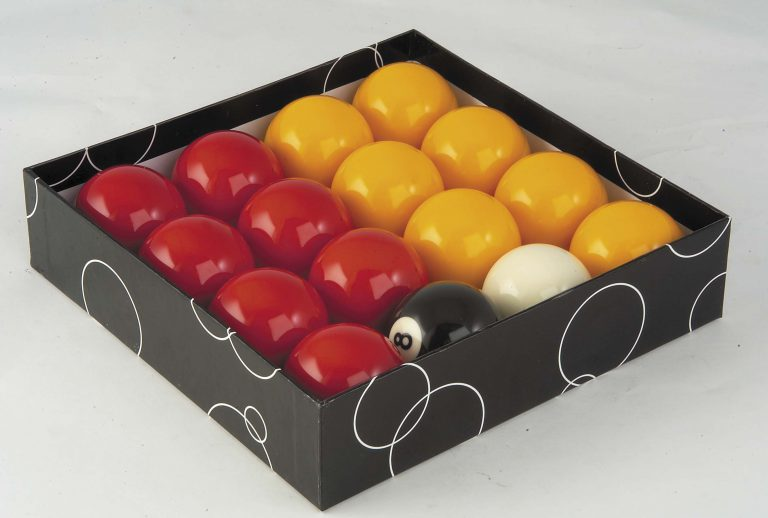 2inch Economy Red & Yellow Pool Balls