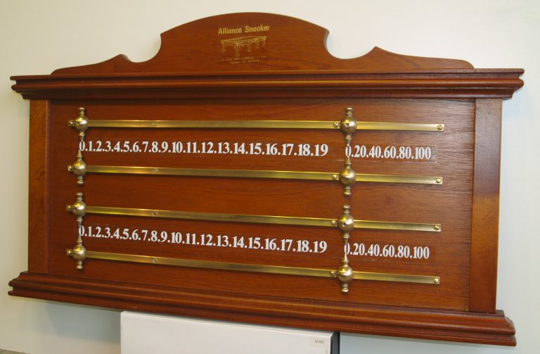 Alliance Traditional Snooker Marking Board