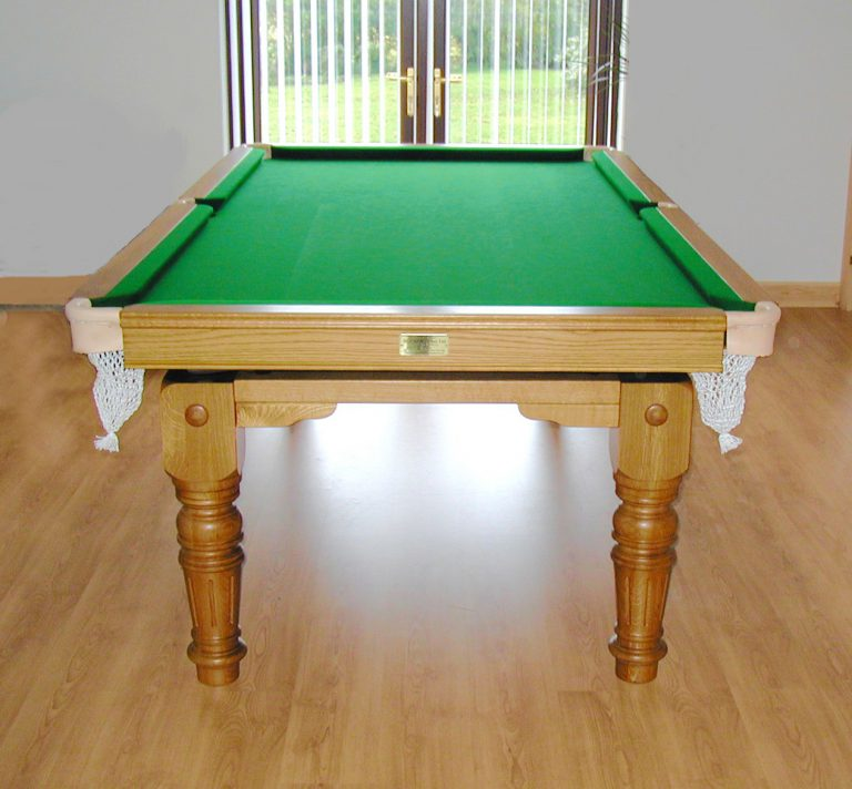 Balmoral Snooker Dining Table smart swatches