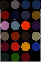 Cloth for 8 Ball English pool smart pool colours