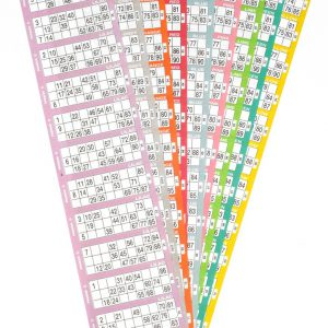 Jumbo Pad Bingo Flyers