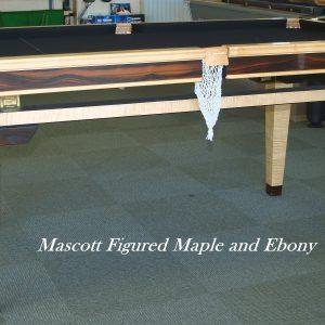 Mascott Ebony & Maple Dining Table