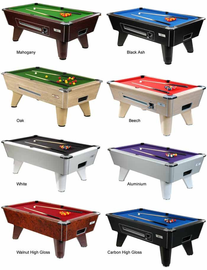 Supreme Winner Freeplay Pool Table Alliance Snooker - How high is a pool table