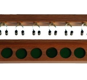 Wall Mounted Cue Rack 6 cues